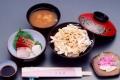 深川丼+刺身セット