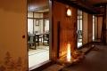 2階廊下より個室を眺める