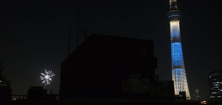 今度の土曜日は隅田川花火大会!