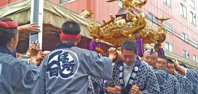 牛島神社のお祭りです